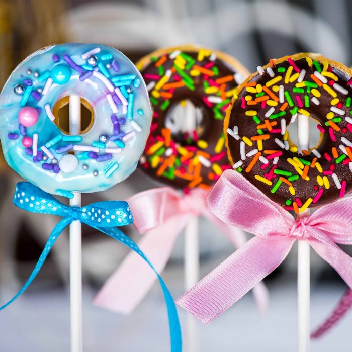 LaBonnie Catering Galaxy Donut Pops